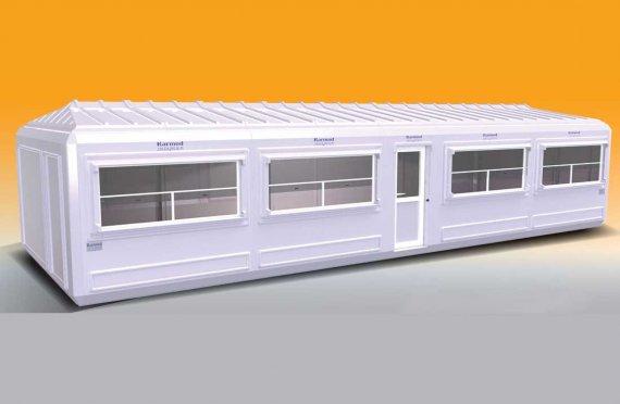 390X1100cm Kannettava Rakennukset
