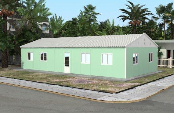 Esivalmistettu Koulu-117 m²