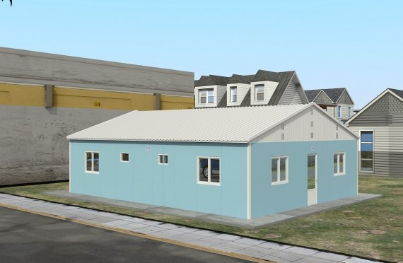 Modulaarinen Majoitusyksikkö 102 m²