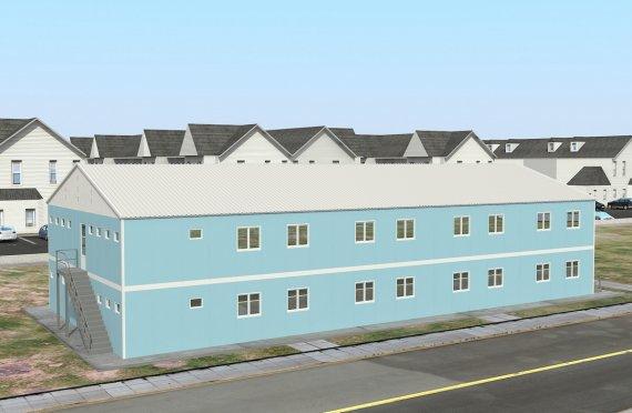 Modulaarinen Majoitusyksikkö 736 m²
