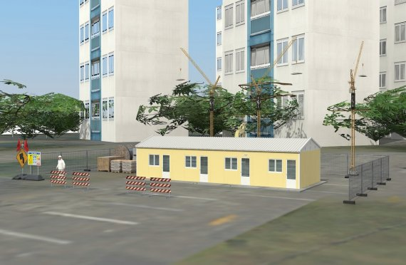Modulaarinen Majoitusyksikkö 79 m²