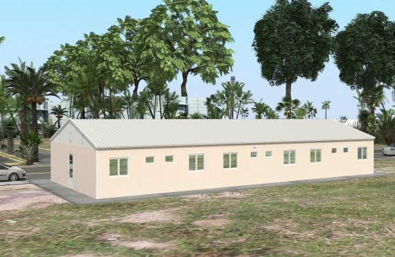 Modulaarinen Majoitusyksikkö 204 m²