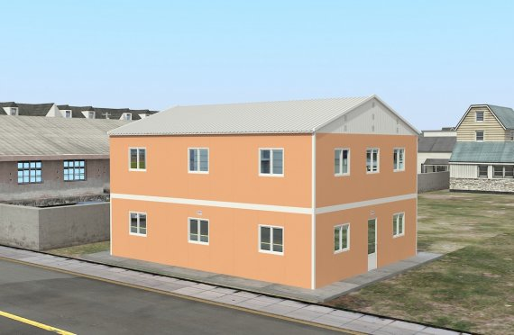 Modulaarinen Majoitusyksikkö 206 m²