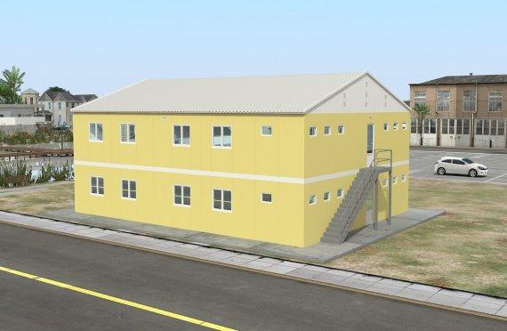 Modulaarinen Majoitusyksikkö 348 m²