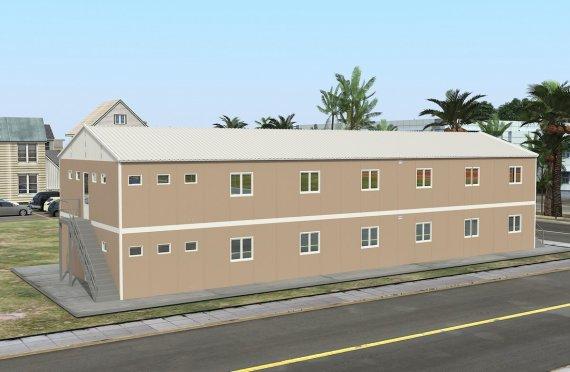 Modulaarinen Majoitusyksikkö 474 m²