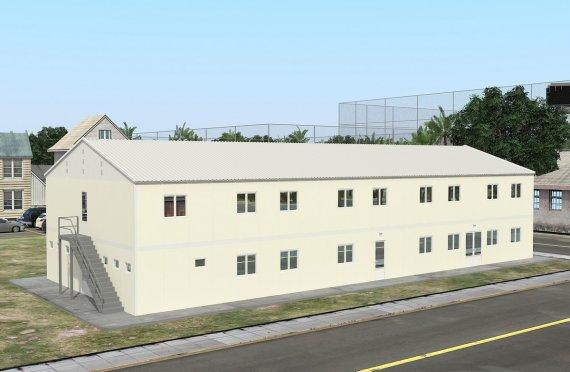 Modulaarinen Majoitusyksikkö 662 m²