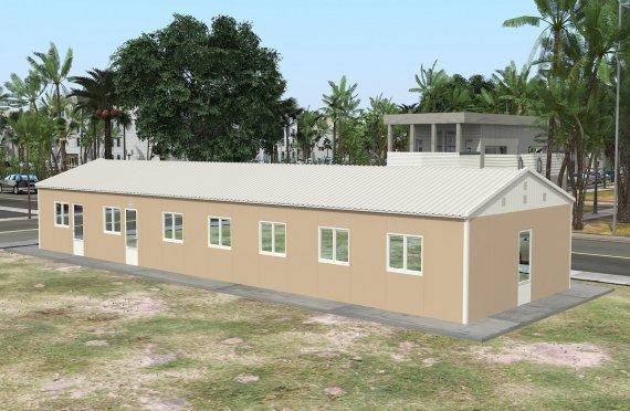 Esivamistettu Kaupallinen Keittiö 139 m²