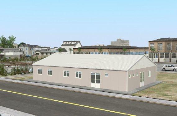 Esivamistettu Kaupallinen Keittiö 217 m²