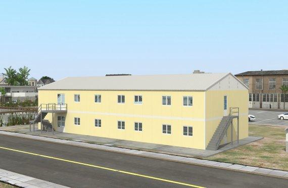 Esivamistettu Kaupallinen Keittiö 576 m²