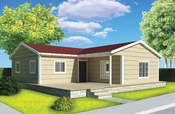 Esivalmistettu Talo 107 m²