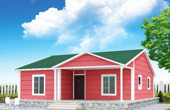 Esivalmistettu Talo 82 m²