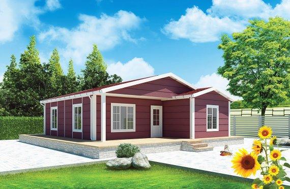 Esivalmistettu Talo 88 m²