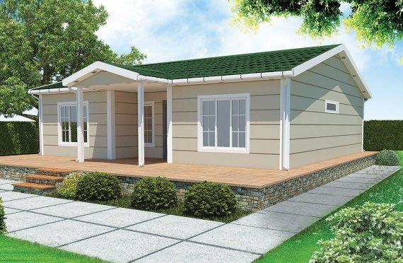 Esivalmistettu Talo 94 m²