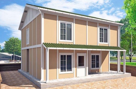 Esivalmistettut Talo 112 m²
