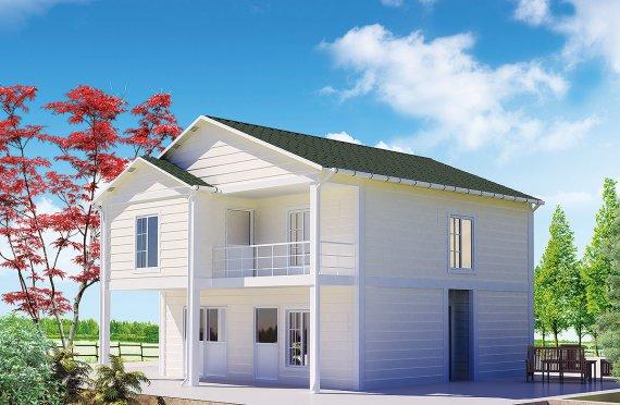 Esivalmistettu Talo 130 m²
