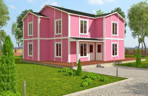 Esivalmistettu Talo 147 m²