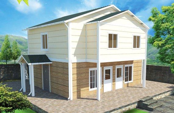 Esivalmistettu Talo 114 m²