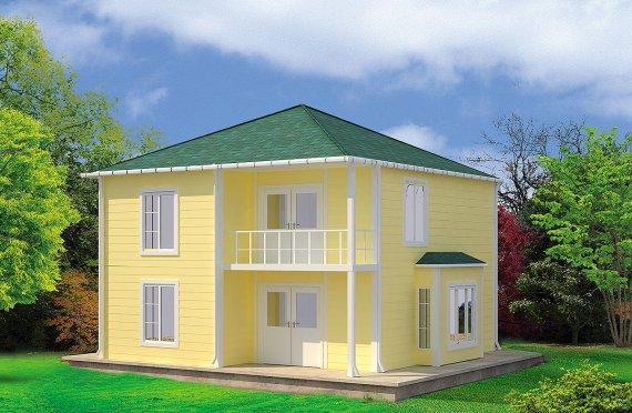 Esivalmistettu Talo 124 m²