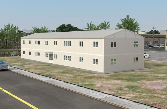 Modulaarinen Toimistorakennus 588 m²