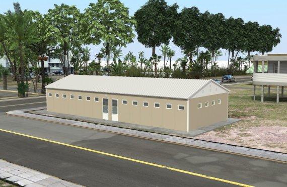 Esivalmistettu-Wc-Suihku Rakennukset 145 m²