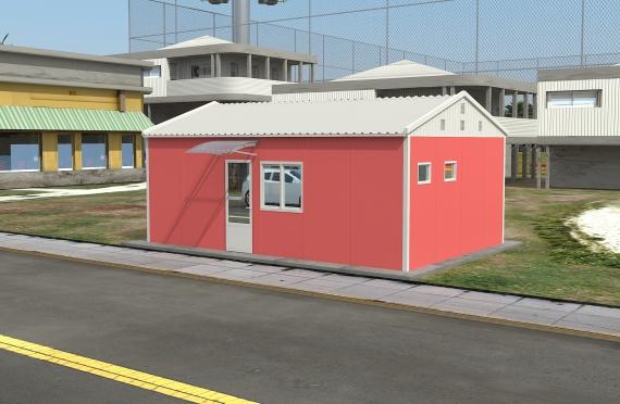 Modulaarinen Toimistorakennus 40 m²