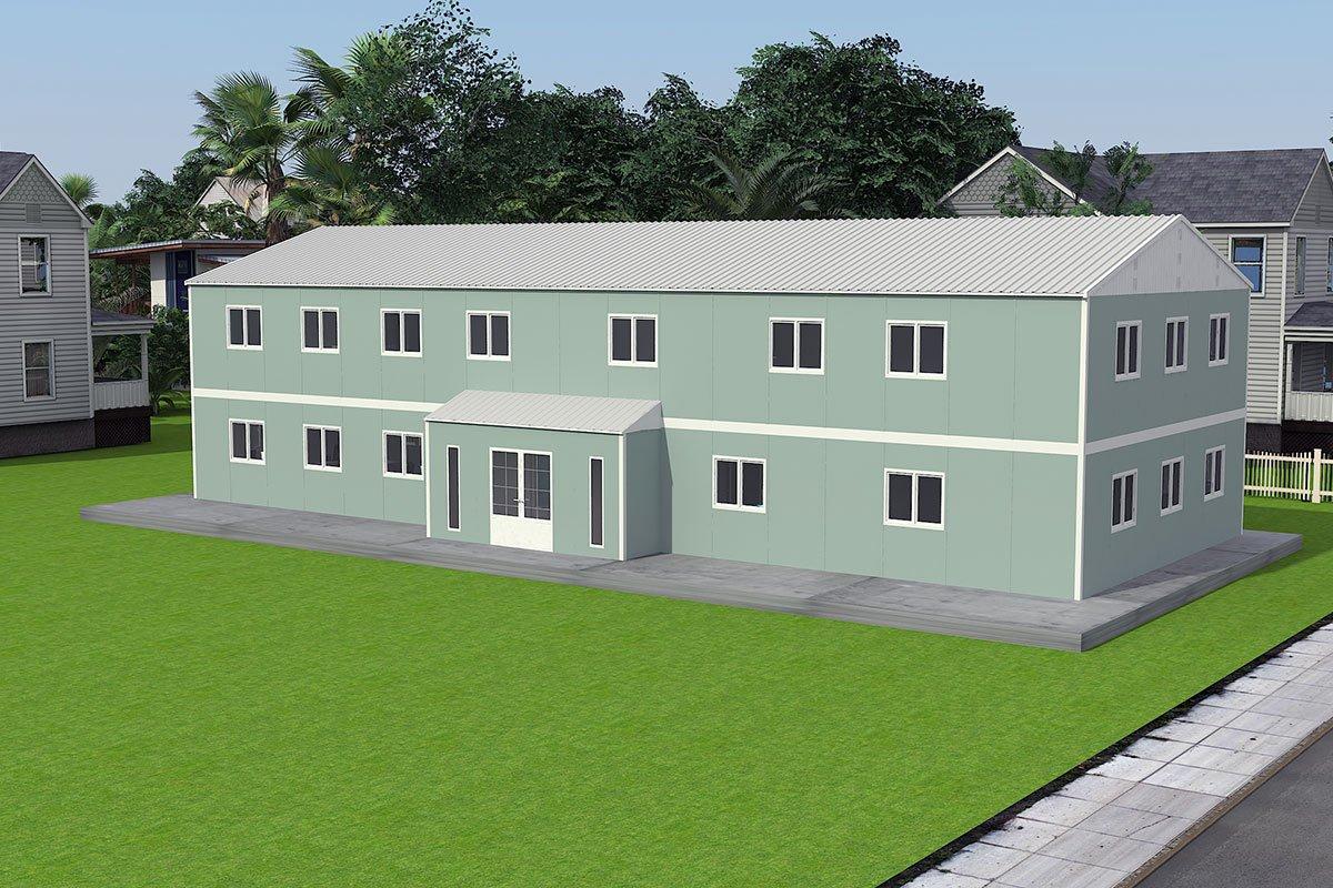 Modulaarinen Toimistorakennus 415 m²