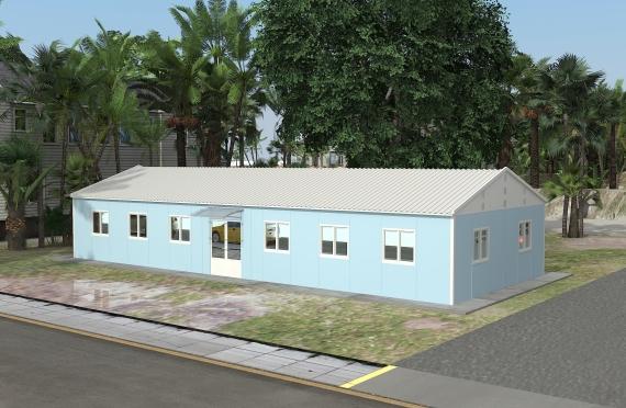 Modulaarinen Toimisto Rakennetsut146 m²