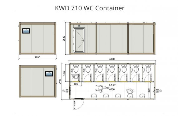 KWD 710 Wc Kontti