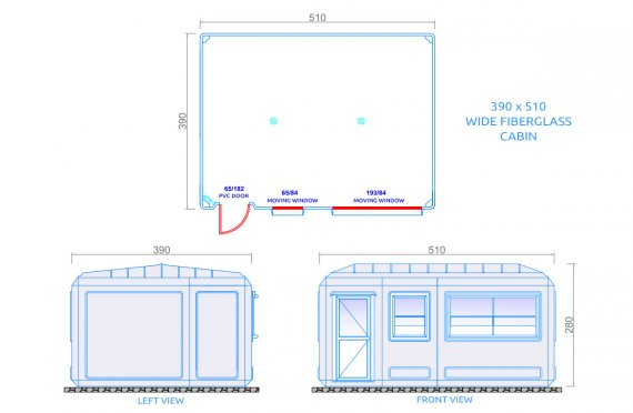 Kannettava Rakennukset 390X510