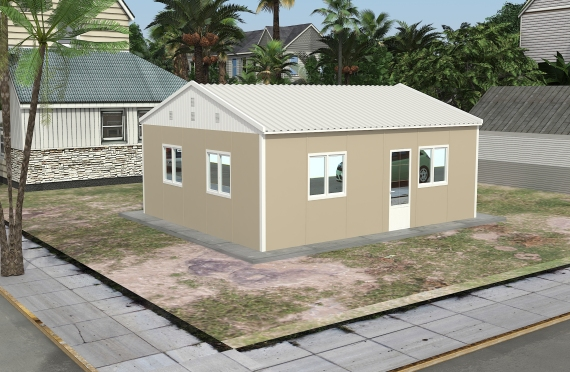 Modulaarinen Toimistorakennus 49 m²