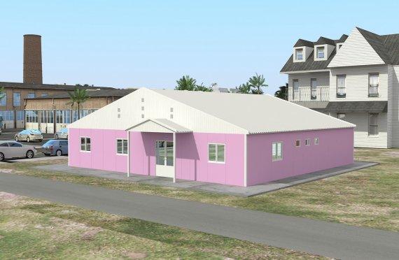 Modulaarinen-Laboratorio 222 m²
