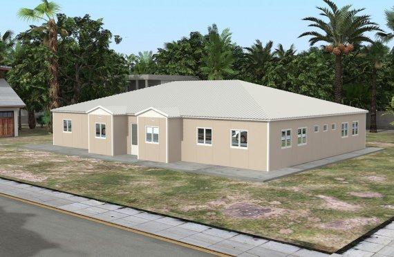 Kannettava Luokkahuone 289 m²