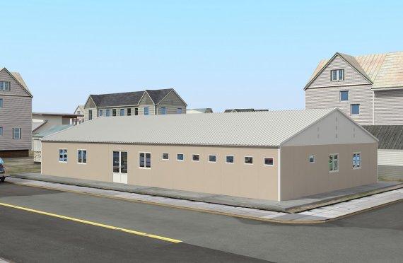 Modulaarinen Sairaala 275 m²