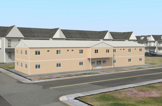 Modulaarinen Sosiaalinen Laitos 793 m²