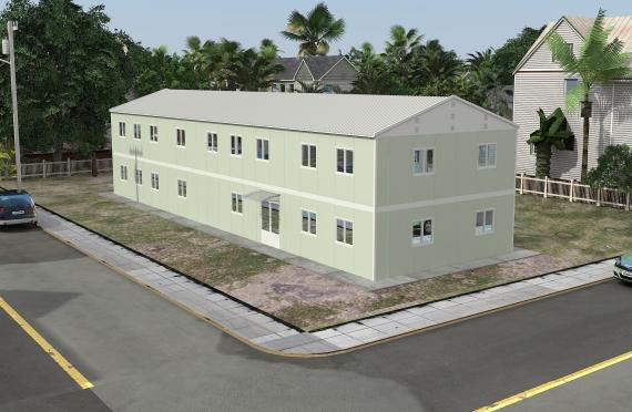 Modulaarinen Toimisto Rakennukset 463 m²