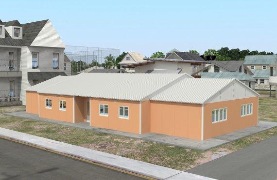 Esivalmistettu Luokkahuone 272 m²