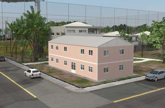 Modulaarinen Toimisto Rakennukset 340 m²
