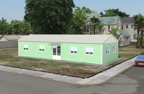 Modulaarinen Toimistorakennus 106 m²