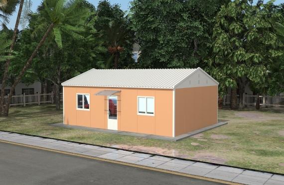 Modulaarinen Toimistorakennus 58 m²