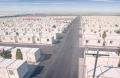 Väliaikainen Pakolaisuus Työntekijän Rakennustyömaarakenne