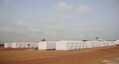 Karmod täydentää 250 ihmisen rakennustyömaa Somaliassa