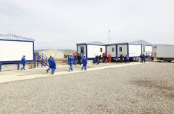 Valmisrakennukset Shahdeniz-2-projekti Azerbaijan