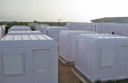 Saliintorakennuksen kokoonpano Senegalissa on valmis